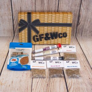Antrim Spice Letterbox Hamper with Items outside the box