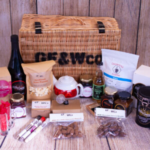Titanic Food Hamper containing artisan gourmet food from Northern Ireland