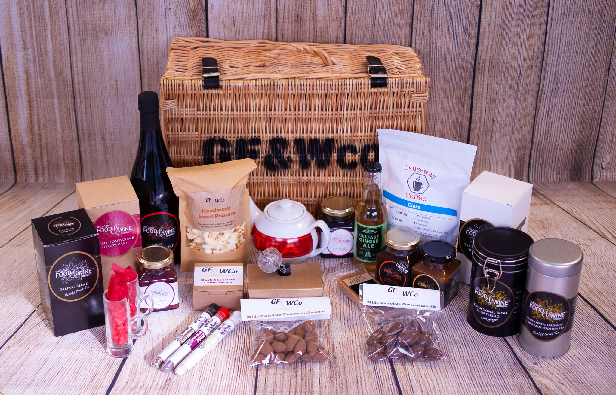 Titanic Wicker Hamper The Good Food Wine Company