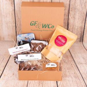 Chocolate Almond Hug Hamper Box