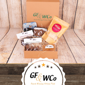 Chocolate Covered Almonds Personalised Hug In a Box gift from the Good Food and Wine Northern Ireland Hamer Company