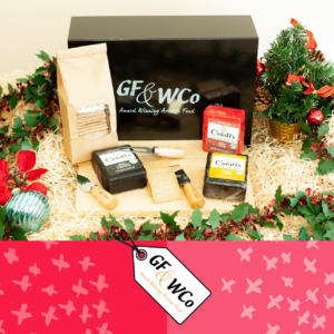 Three christmas cheese and crackers from The Good Food and Wine Northern Ireland Hamper Company