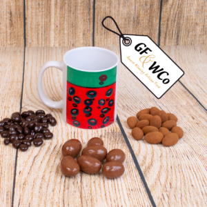 isolated mug with chocolates from the Good Food & Wine Northern Ireland Hamper and Gift Company