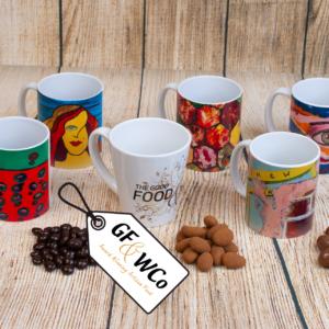 Mug with Chocolates range from the Good Food and Wine Northern Ireland Hamper Company